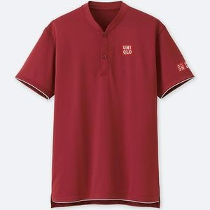f897140e Uniqlo Shirts | Roger Federer Dryex Polo Shirt Red | Poshmark